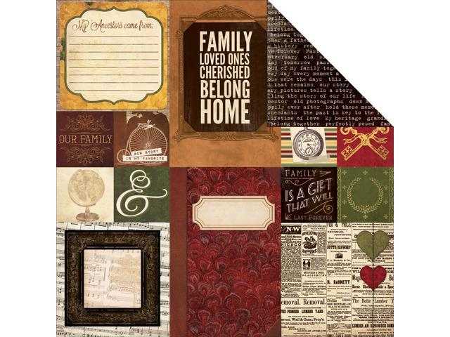 Heritage Double-Sided Cardstock 12