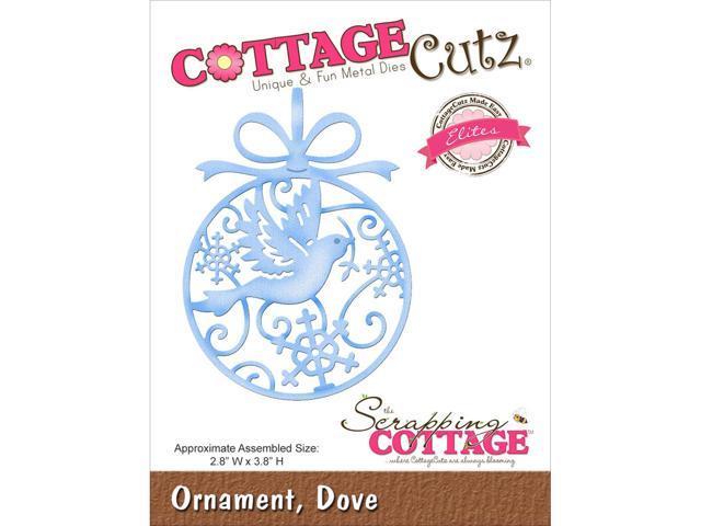 Cottagecutz Elites Die -Dove Ornament