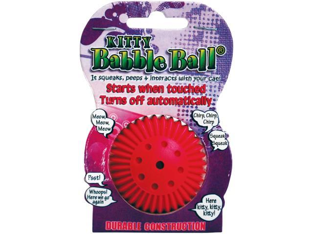 Kitty Talking Babble Ball-Pink
