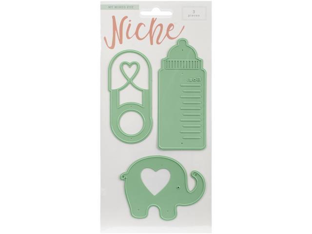 Niche Cut & Emboss Dies-Oh Baby