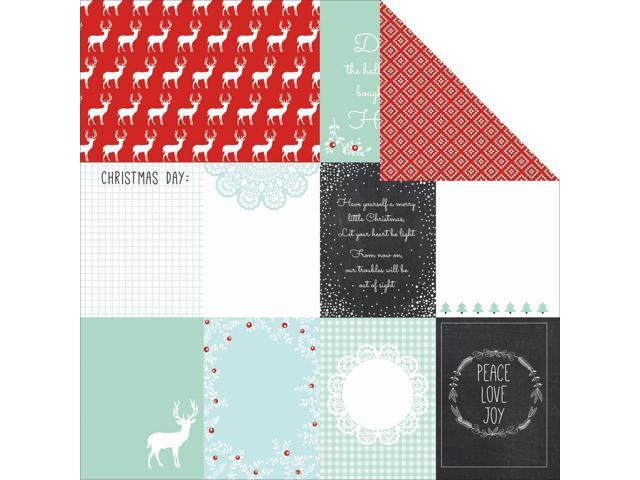 North Pole Double-Sided Cardstock 12