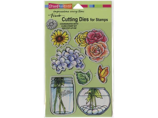 Stampendous Dies-Build A Bouquet Set
