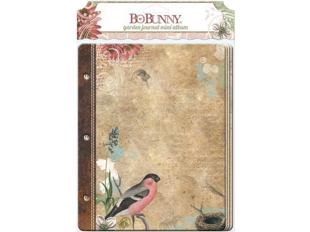 Garden Journal Mini Album 3.75