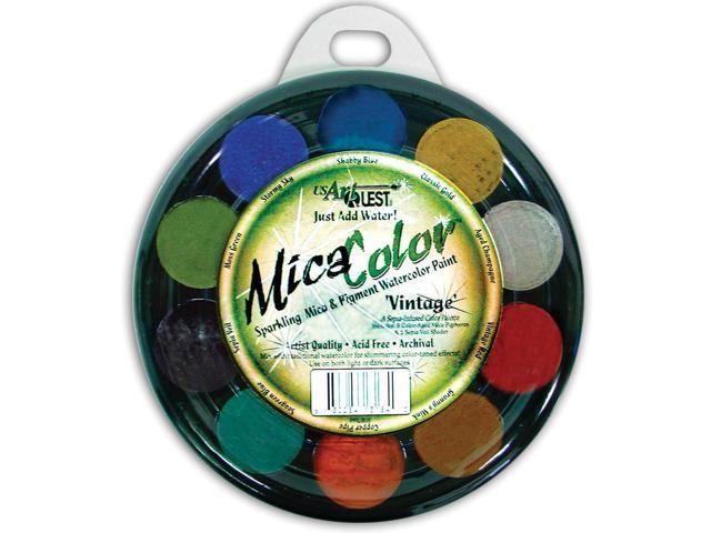 Jewelz Watercolor Palette-Vintage (sepia-Infused)