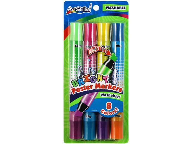 Washable Poster Markers Double-Ended 1/2
