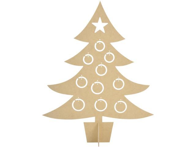 Beyond The Page Mdf Bauble Tree-21.25