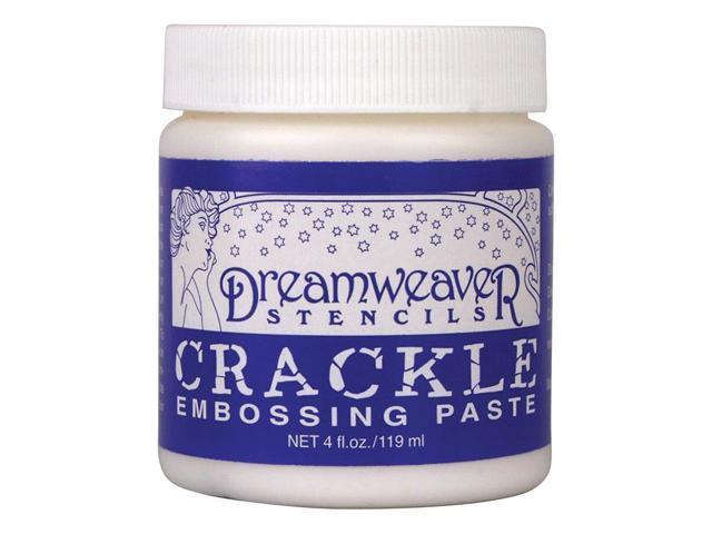Dreamweaver Embossing Paste 4Oz-Crackle