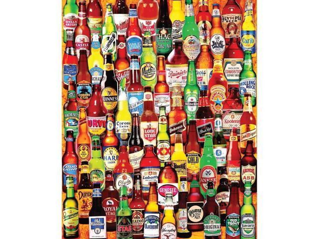 99 Bottles of Beer 1000 Piece Puzzle by White Mountain Puzzles