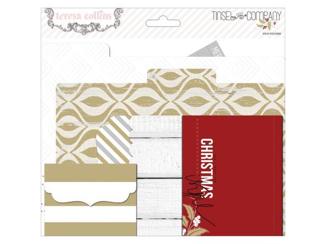 Tinsel & Company Cardstock File Folders & Cards-