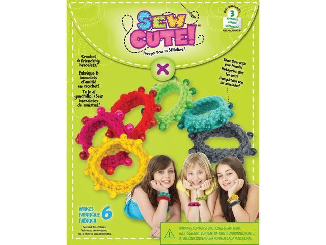 Sew Cute Crochet Bracelets-