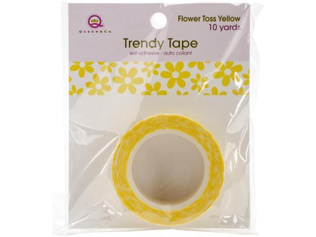 Queen & Co. Trendy Tape-Grid Yellow