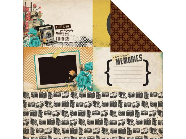Close Up! Double-Sided Cardstock 12
