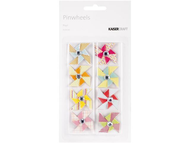 Pop! Mini Pinwheels 8/Pkg-