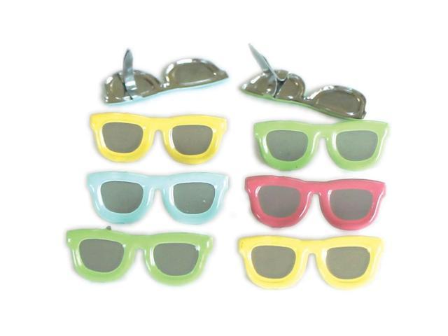 Eyelet Outlet Shape Brads-Sunglasses Pastel