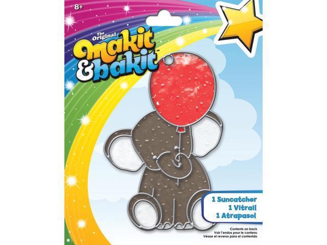 Makit & Bakit Suncatcher Kit-Elephant