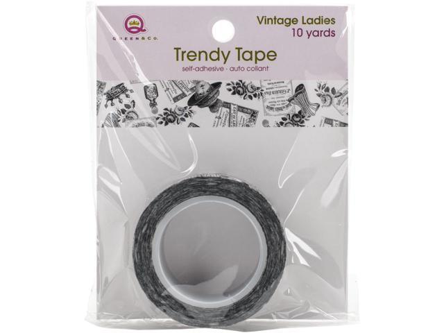 Queen & Co. Trendy Tape-Vintage Ladies