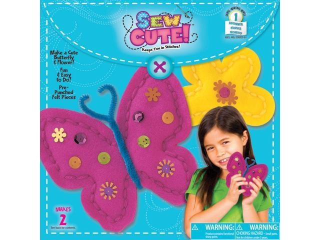 Sew Cute Sew A Butterfly-