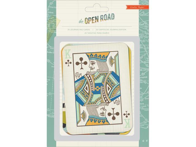 Open Road Journaling Cards 25/Pkg-