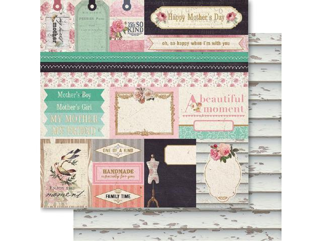 Mother Double-Sided Cardstock 12