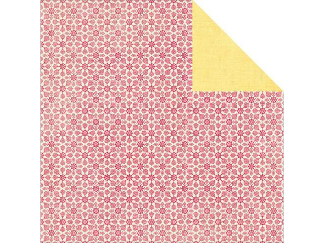 Tropical Punch Double-Sided Cardstock 12