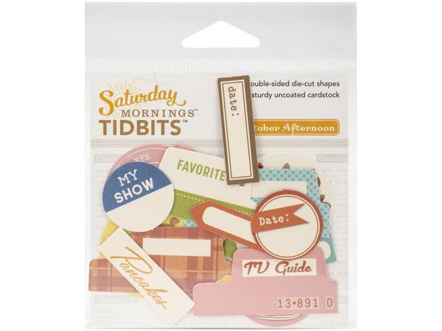 Saturday Mornings Cardstock Die-Cuts-Tidbits