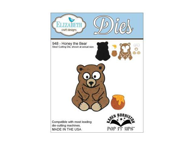 Elizabeth Craft Metal Dies By Karen Burniston-Honey The Bear