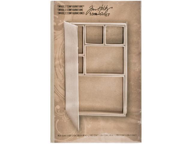 Idea-Ology Configurations Mini Chipboard Shadow Box Book-6