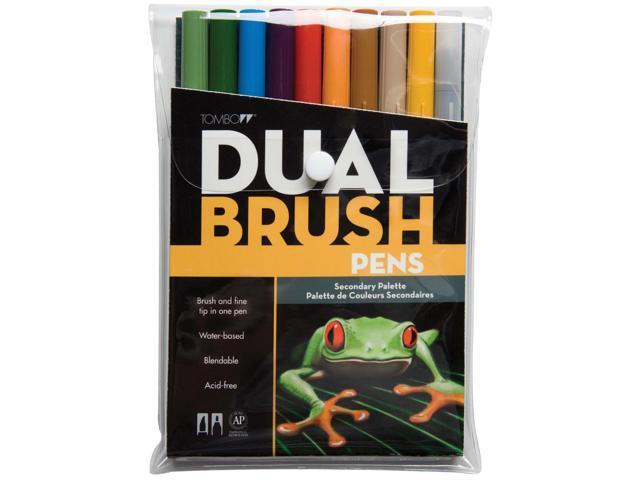 Tombow Dual Brush Pen Set 10/Pkg-Secondary