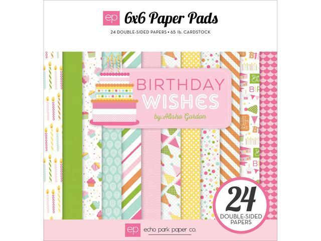 Echo Park Double-Sided Paper Pad 6