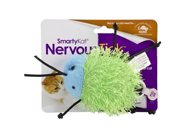 SmartyKat NervousTick Pull-String Motion Toy-