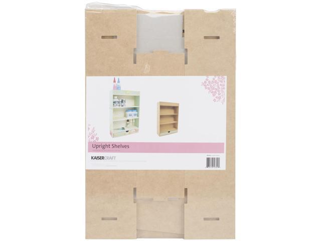 Beyond The Page Mdf Upright Shelves W/Drawer-12.5