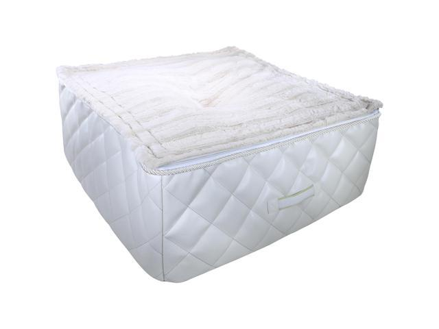Loved Ones Quilted Cuddle Cube Pet Bed-Large/Xlarge-Natural-26