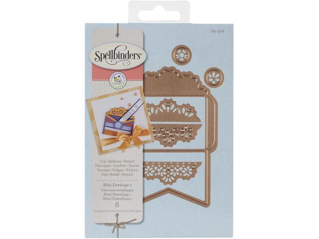 Spellbinders Designer Die-Mini Envelope 1 By Scrappy Cat