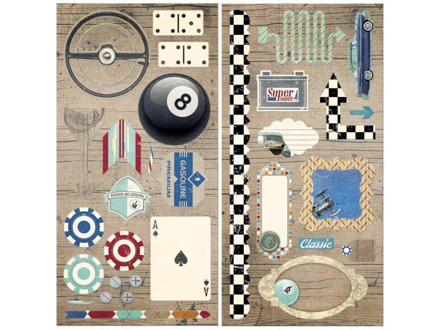 Wild Card Self-Adhesive Chipboard-