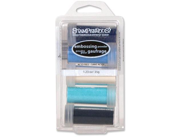 Stampendous Embossing Powder Kit 5/Pkg-Submerge