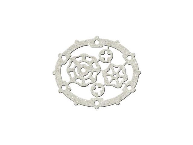 Die-Cut Gray Chipboard Embellishments-Mechanical Parts, 4