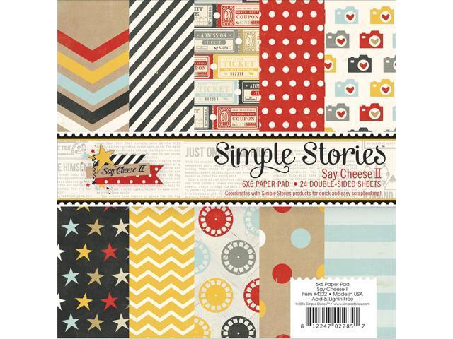 Simple Stories Paper Pad 6