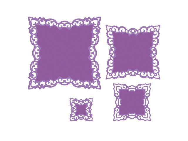 Spellbinders Nestabilities Dies-Labels 42 Decorative Elements