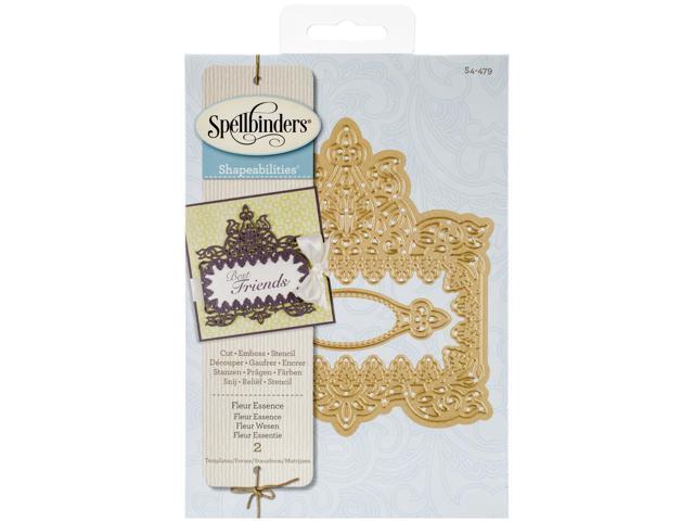 Spellbinders Shapeabilities Dies-Fleur Essence