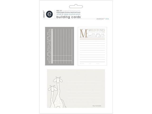 Empire Bebe Building Cards 54/Pkg-Journal