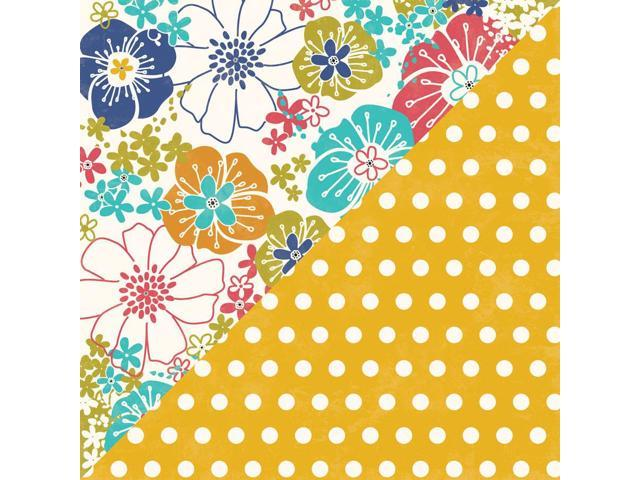 Saffron Yellow Pepper Soup Double-Sided Cardstock 12