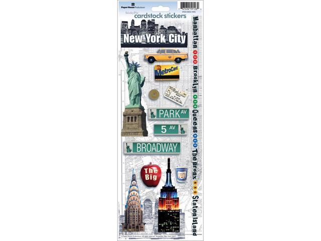 Paper House Cardstock Stickers-New York City