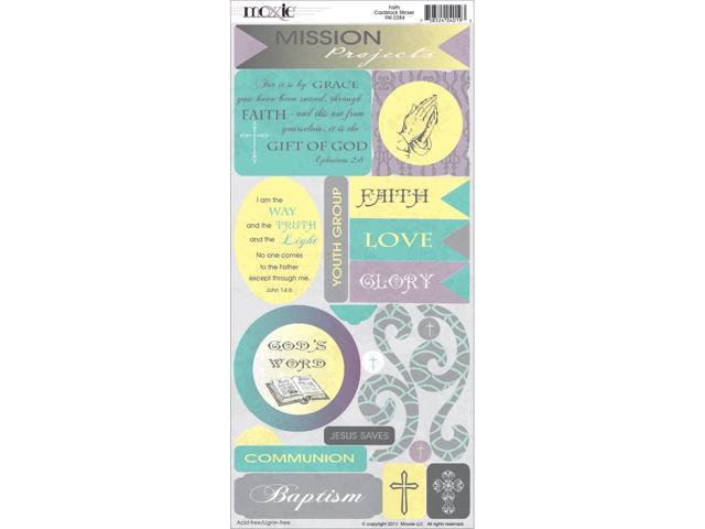 Faith Cardstock Stickers-