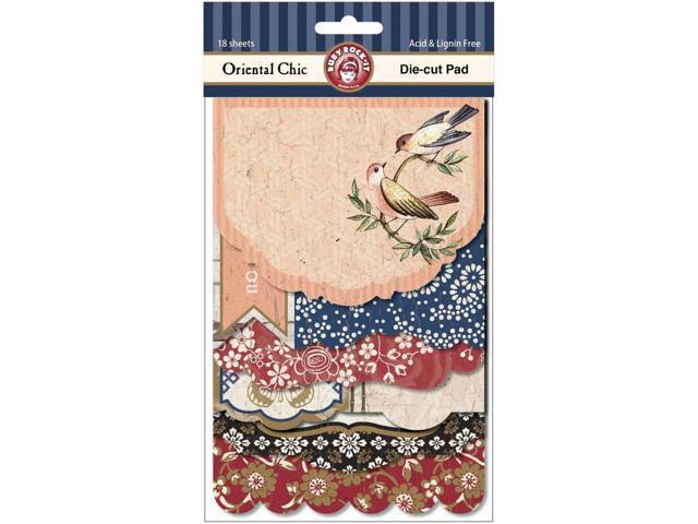 Oriental Chic Die-Cut Pad 18/Sheets-