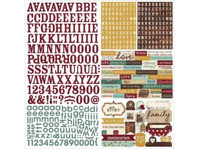 Legacy Cardstock Stickers 12
