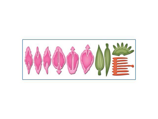 Spellbinders Shapeabilities Die D-Lites-Create A Stargazer Lily