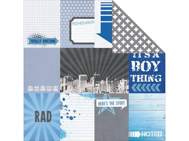 Off The Wall Double-Sided Cardstock 12