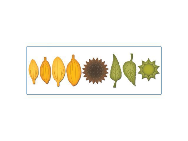 Spellbinders Shapeabilities Die D-Lites-Create A Sunflower