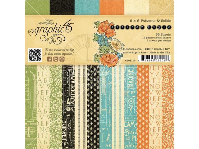 Graphic 45 Paper Pad 6