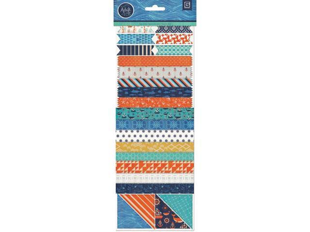 Adrift Vellum Tape Stickers-